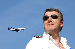 Pilot & Strumień Obraz Royalty Free