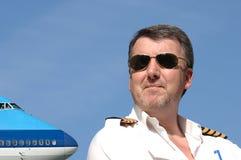 Pilot u. Strahl Lizenzfreies Stockfoto