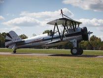 Pilot und Flugzeug - Leesburg VA Airshow Lizenzfreie Stockfotos