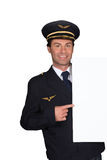 Pilot uniform Royalty Free Stock Photography