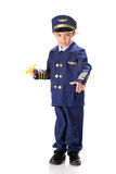 Pilot Wanna-Be Royalty Free Stock Photos