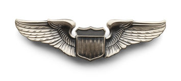 Pilot Wings Stock Images