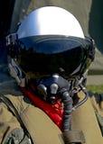 Pilota da combattimento immagine stock libera da diritti