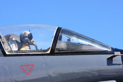 Pilota da combattimento dell'aeronautica Fotografia Stock