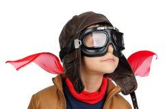 Pilota del ragazzo immagini stock libere da diritti