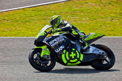Pilota di Andrea Iannone di Moto2 nel MotoGP Fotografie Stock