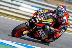 Pilota di Colin Edwards di MotoGP Immagini Stock