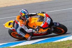 Pilota di Dani Pedrosa di MotoGP Fotografia Stock Libera da Diritti