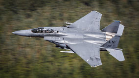Pilota el U.S.A.F. de la oficina F15 Foto de archivo libre de regalías