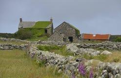 Pilota gospodarstwo rolne blisko Zennor, Cornwall Obrazy Royalty Free