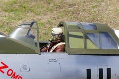 Pilota japonese del jet 2013 di Bellota in aereo del modello. Fotografie Stock Libere da Diritti