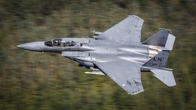 Pilota o U.S.A.F. do escritório F15 Foto de Stock Royalty Free