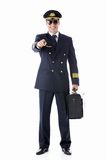 Pilota sorridente Immagine Stock Libera da Diritti