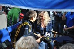Pilota Vitaly Petrov di Renault F1 Fotografie Stock