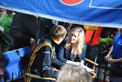 Pilota Vitaly Petrov di Renault F1 Immagini Stock