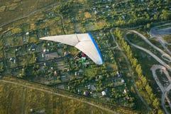 Pilotagem de Hangglider Foto de Stock Royalty Free