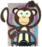 Pilotant des modes - singe Image stock