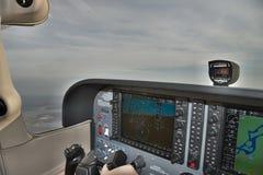Pilotare un aereo leggero Immagine Stock Libera da Diritti