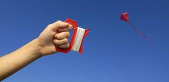 Pilotare un cervo volante immagini stock libere da diritti