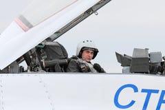 Pilote Photographie stock