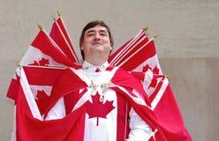 Pilote Canada Photo libre de droits