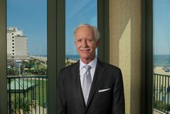 Pilote Chesley Sully Sullenberger photographie stock