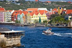 Pilote Into Curacao photo libre de droits