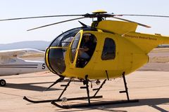 Pilote d'hélicoptère Photographie stock
