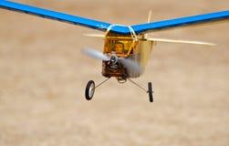 Pilote dans le modèle de RC Image stock