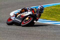 Pilote de Colin Edwards de MotoGP Images libres de droits