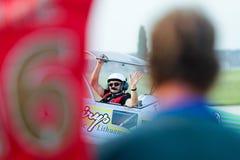 Pilote de Jurgis Kairys Photo libre de droits