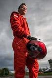 Pilote de la formule 1 Photographie stock