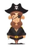 Pilote de pirate illustration de vecteur