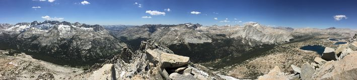 Pilote Knob Peak View à partir du dessus image stock