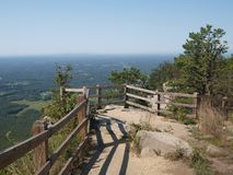Pilote Mountain State Park photo stock