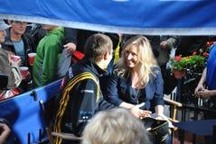 Pilote Vitaly Petrov de Renault F1 photo libre de droits