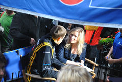 Pilote Vitaly Petrov de Renault F1 images stock