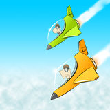 Piloten Lizenzfreies Stockfoto