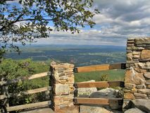 Piloten Mountain State Park förbiser Royaltyfri Fotografi