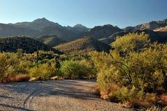 Piloter à travers l'Arizona images libres de droits