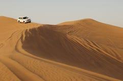Piloter dans le désert Images libres de droits