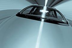 Piloter dans un tunnel Image stock