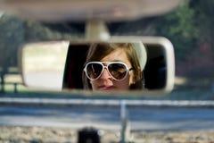 Piloter de femme Images stock