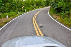 Piloter de véhicule Photos libres de droits