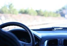 Piloter de véhicule Image stock