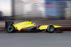 Piloter de véhicule de Formule 1 Photo libre de droits