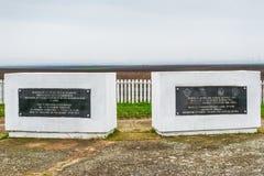 Pilotes tombés de SaMemorial du royaume de la Yougoslavie Image libre de droits