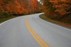 Pilotez dans l'automne Images stock