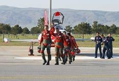 Piloti turchi delle stelle Fotografie Stock