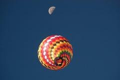 Pilotilo alla luna Fotografia Stock